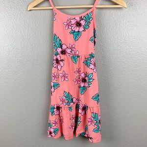 Justice Girls Aloha Coral Dress, Size 10